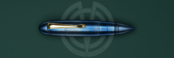 Tactical pen Streltsov P&A Zeppelin Blue