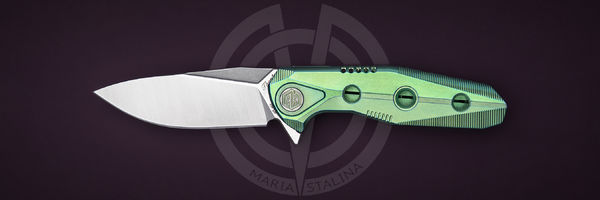 Rike Knife Thor4s Green