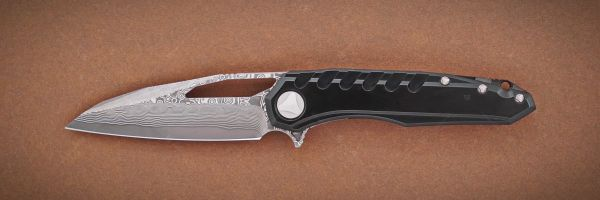 Marfione Custom Knives Sigil Black