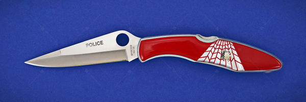 Spyderco Police Red