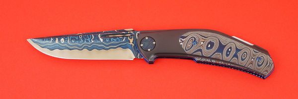 Nylund Knives Backlock Folder