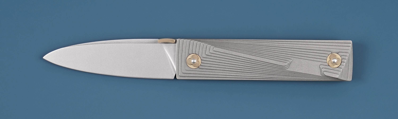 Custom Folding Knife Nikolai Lomachenkov & Maria Stalina Knives Dune ...
