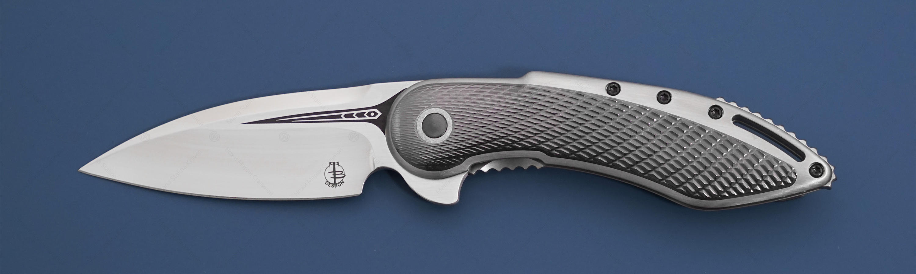 Begg Knives нож Glimpse Zirc Inlay