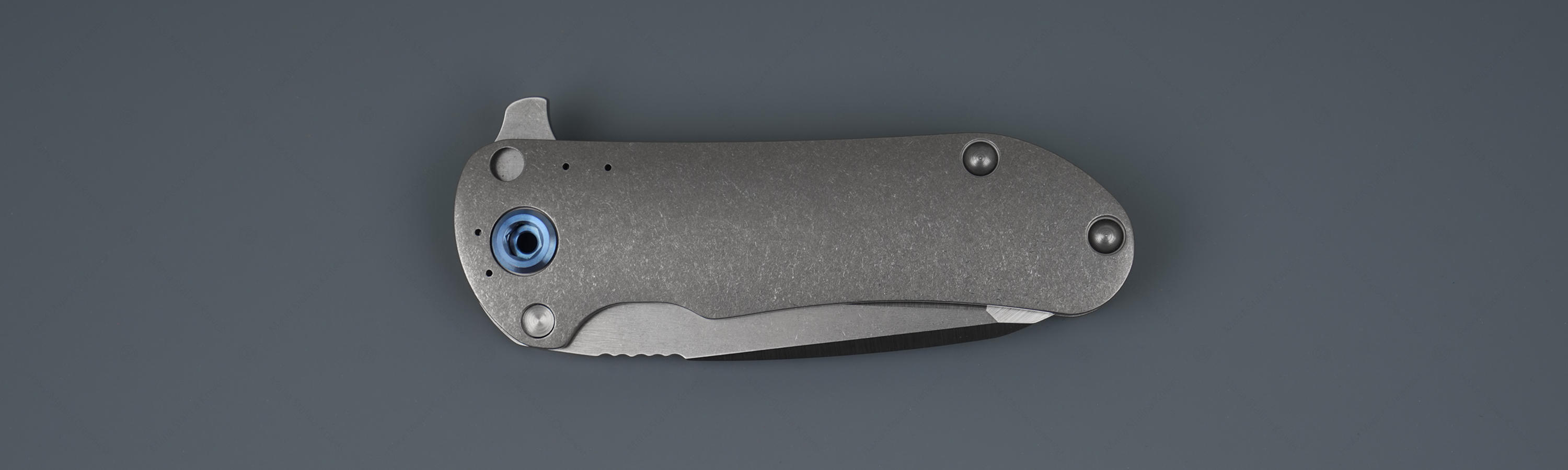 Titanium handle