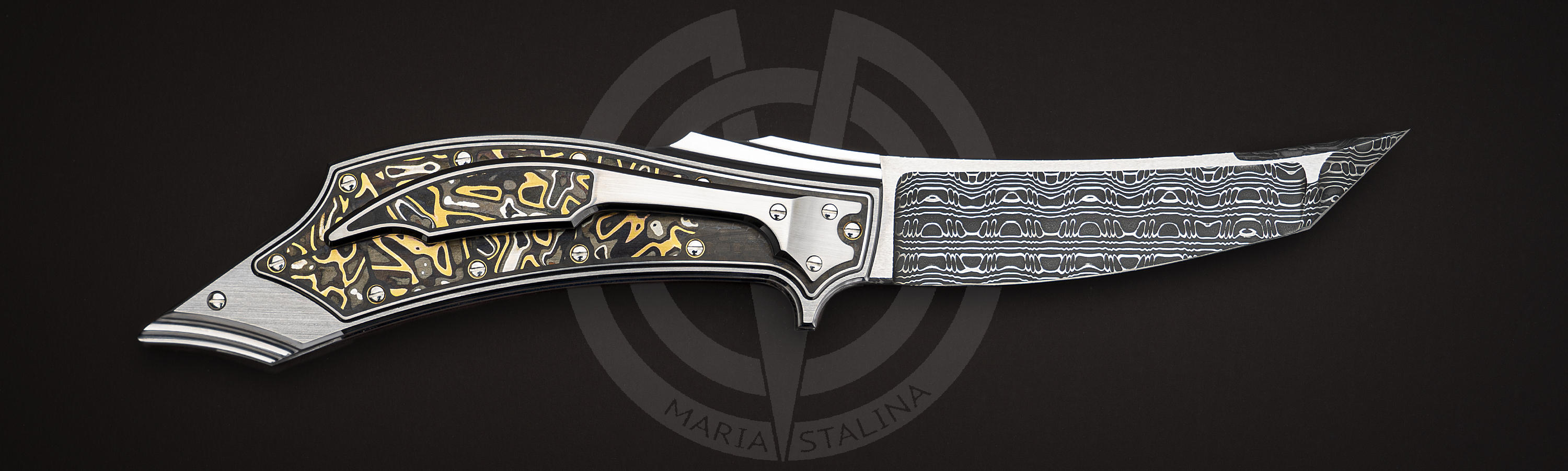 Damascus blade of White Fang
