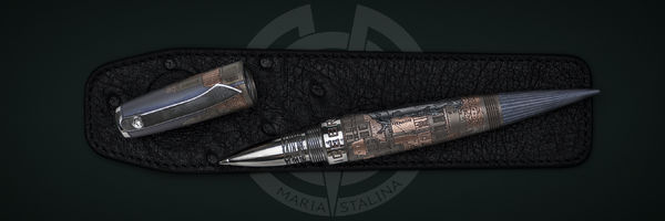 Icebreaker #1 Cat #1 tactical pen Streltsov P&A