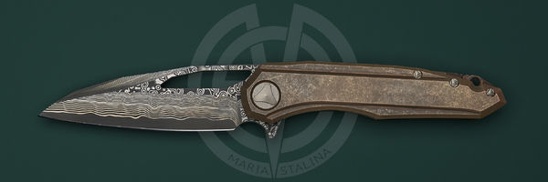 Marfione Custom Knives Sigil Copper