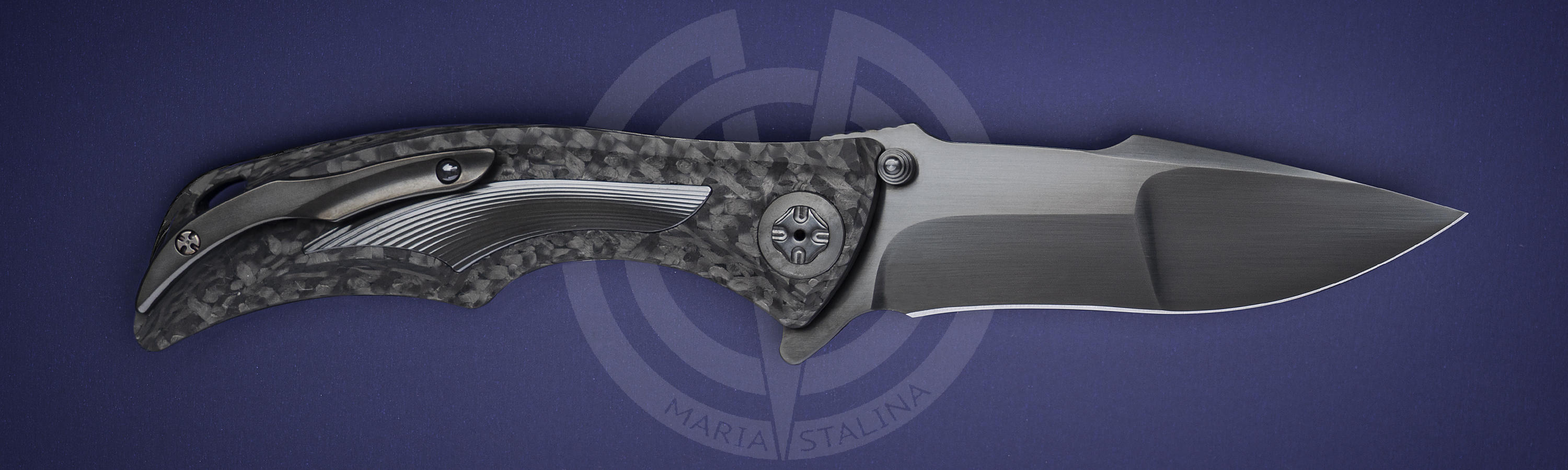 Blade material	steel RWL-34 knife Down Integral Black DLC