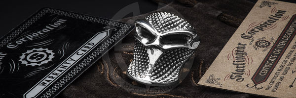 Starlingear Stealth Blade Checkered Puncher Ring